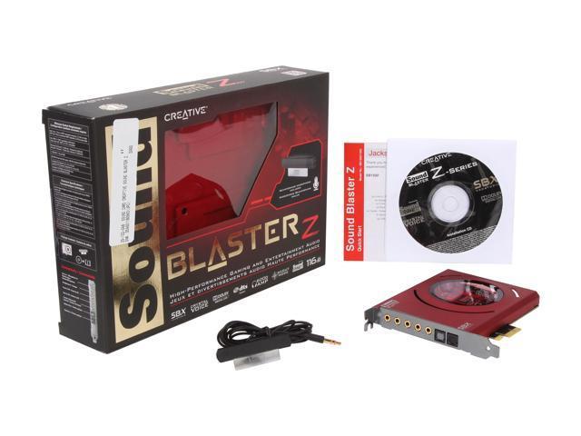 NeweggBusiness - Creative Sound Blaster Z PCIe 116dB SNR Gaming