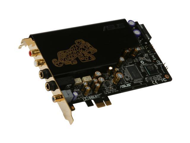 ASUS Xonar Essence STX Virtual 7.1 Channels PCI Express x1 Interface 124 dB SNR / Headphone AMP Card