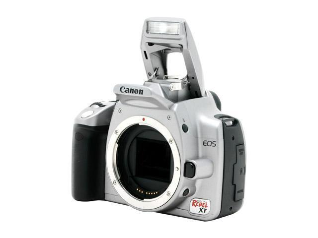 Canon Rebel XT (silver, body only) for $549 (AR) free 1GB