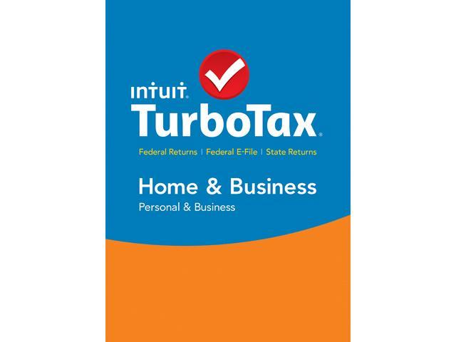 Intuit TurboTax Home & Business 2015 Fed + State + Efile for Windows - Download