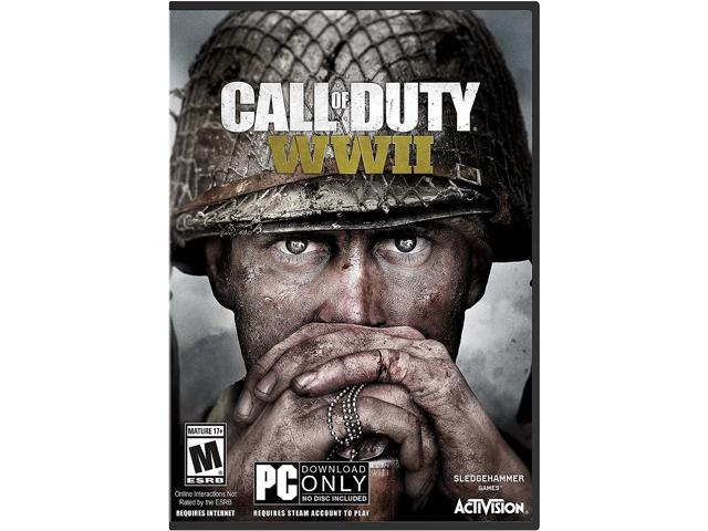 NeweggBusiness - Call of Duty: WWII - PC ( (Physical Key Code - No Disc)