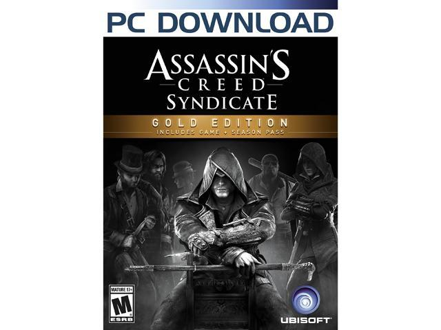 Assassin's Creed Syndicate Gold Edition [Online Game Code]