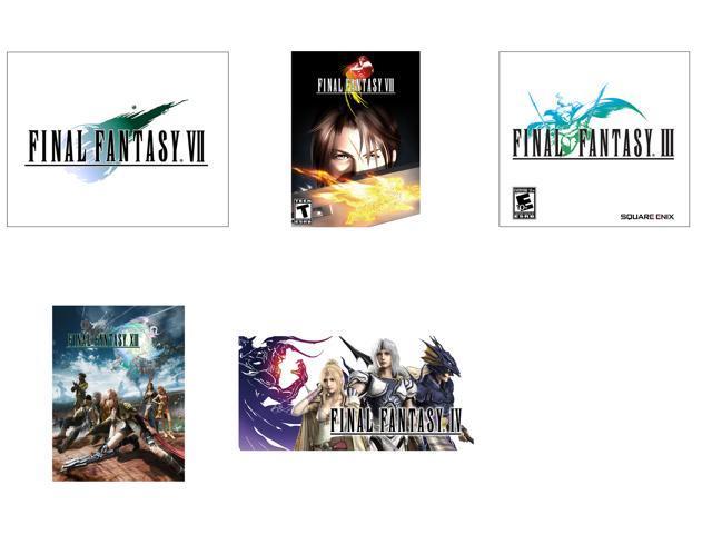 Final Fantasy Power Pack (III + IV + VII + VIII + XIII) [Online Game Codes]
