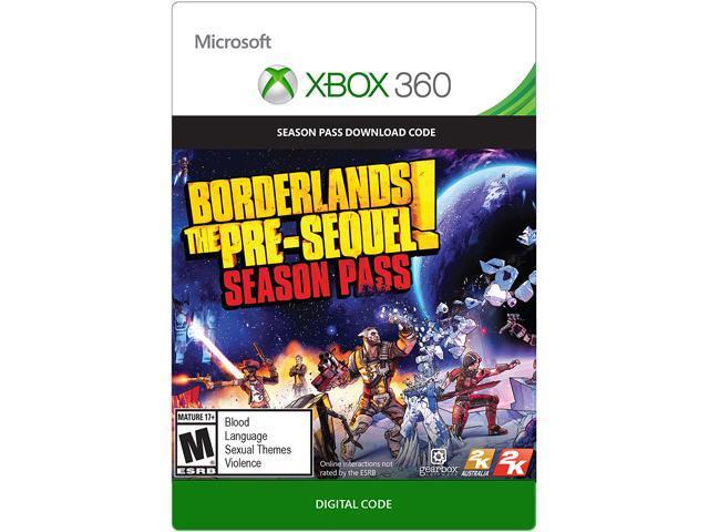 Borderlands: The Pre Sequel Season Pass XBOX 360 [Digital Code]