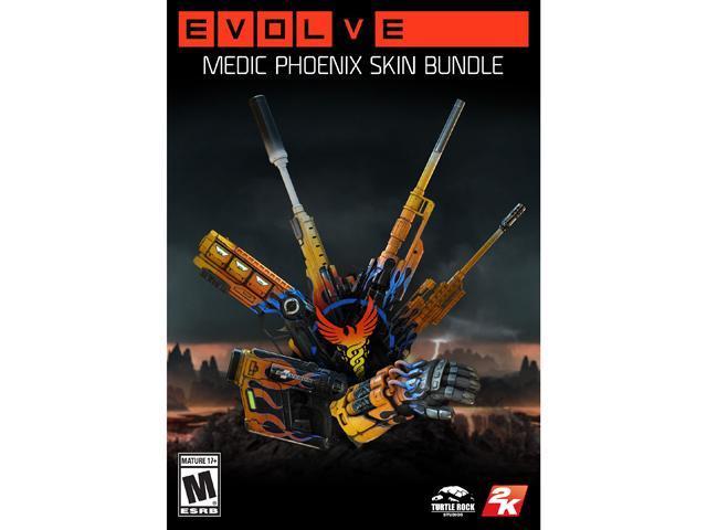 Evolve: Medic Phoenix Skin Bundle [Online Game Code]