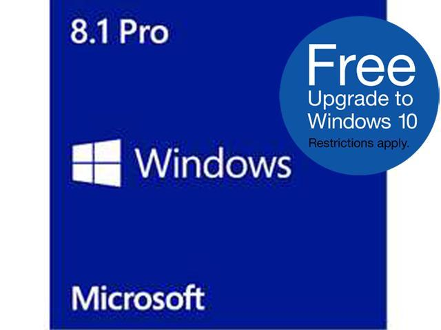 Microsoft Windows 8.1 Pro - 64-bit