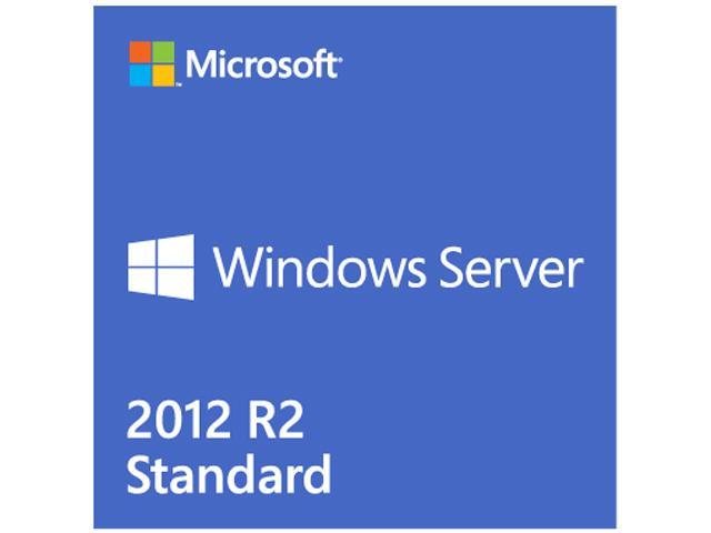 Microsoft Windows Server Standard 2012 R2 2CPU/2VM - Base License