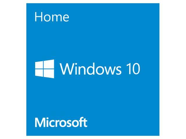Microsoft Windows 10 Home - 64-bit