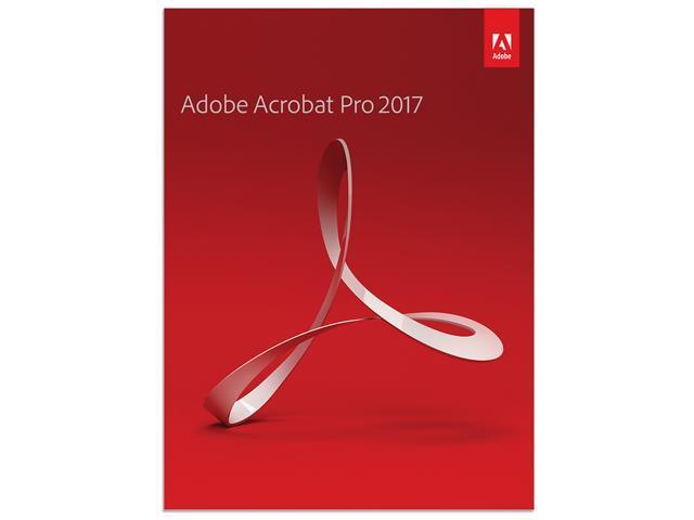 Adobe Acrobat Pro 2017 Windows Download Newegg Com