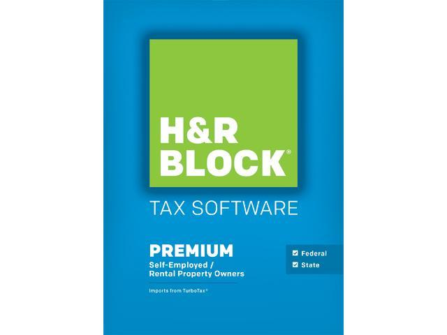 H&R BLOCK Tax Software Premium + State 2015