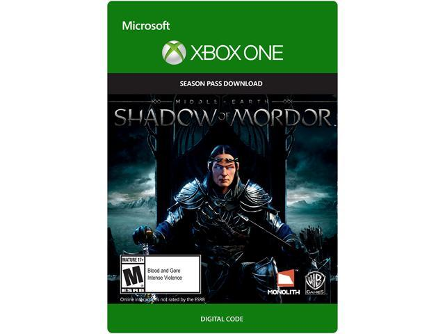 Middle Earth: Shadow of Mordor Season Pass XBOX One [Digital Code]