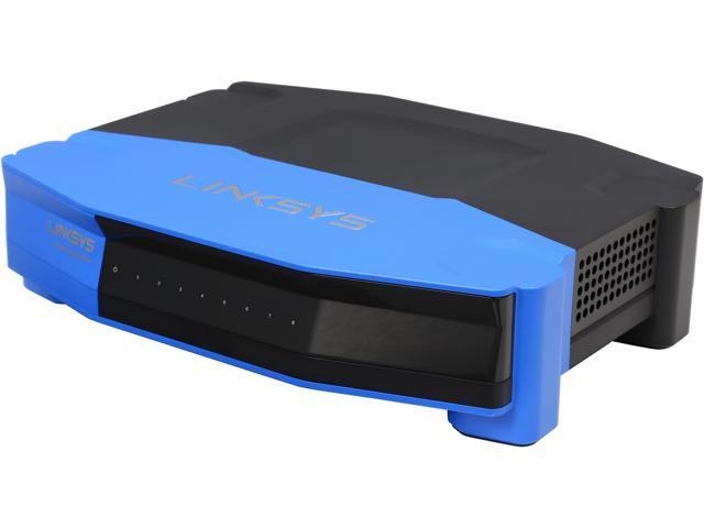 Linksys WRT 8-Port Gigabit Switch___ Works with Linksys WRT1900AC Wi-Fi Router (SE4008)