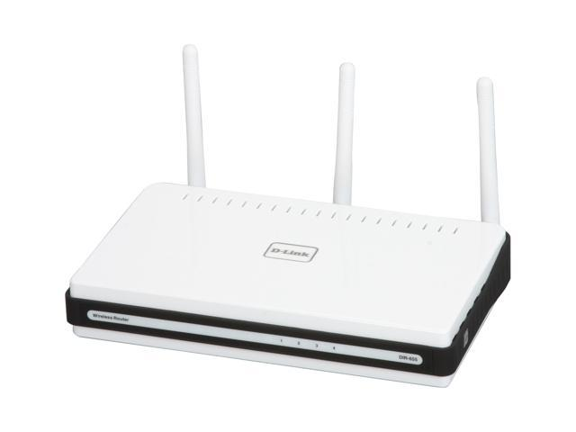 D-Link Xtreme Gigabit Router (DIR-655) Wireless N300, USB SharePort, Gigabit