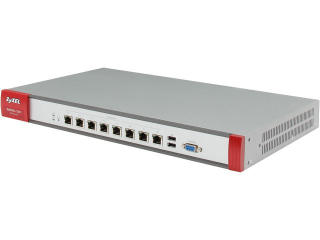 ZyXEL ZYWALL310 High Performance 2GbE SPI/500Mbps VPN Firewall with 200 IPSec and 50 SSL VPN___ 8 GbE Ports and High Availability