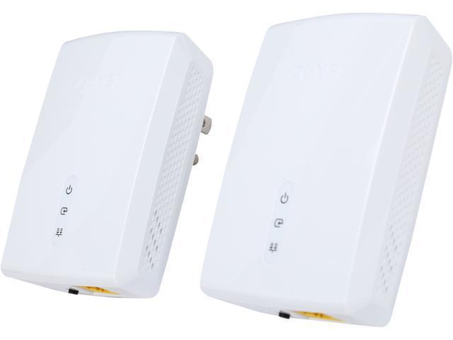 NeweggBusiness - ZyXEL PLA5405KIT HomePlug AV2 MIMO AV1200