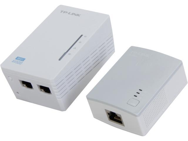 tp link tl wpa4220kit advanced 300mbps universal wi fi range extender repeater av500 powerline. Black Bedroom Furniture Sets. Home Design Ideas