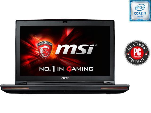 MSI GT72S Dominator Pro G-220 Gaming Laptop 6th Generation Intel Core i7-6820HK (2.7 GHz) 32 GB Memory 1 TB HDD 256 GB SSD NVIDIA GeForce GTX 980M 8 GB GDDR5 17.3