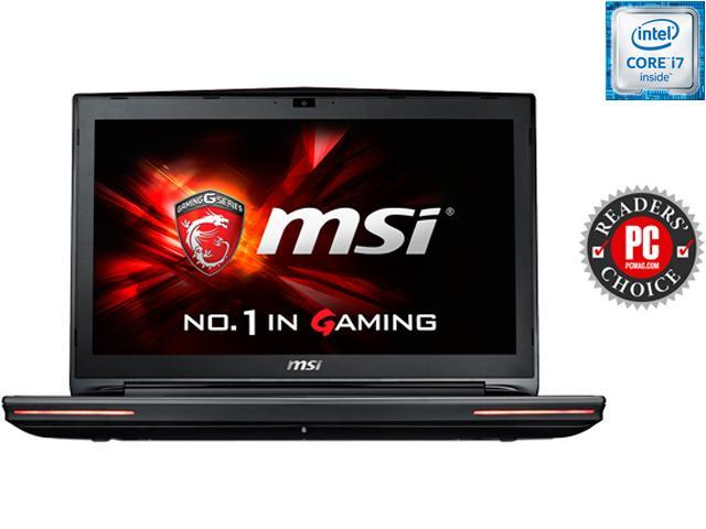 MSI GT72S Dominator Pro G-037 G-Sync Gaming Laptop 6th Generation Intel Core i7 6820HK (2.70 GHz) 16 GB Memory 1 TB HDD 128 GB SSD NVIDIA GeForce GTX 970M 3 GB GDDR5 17.3