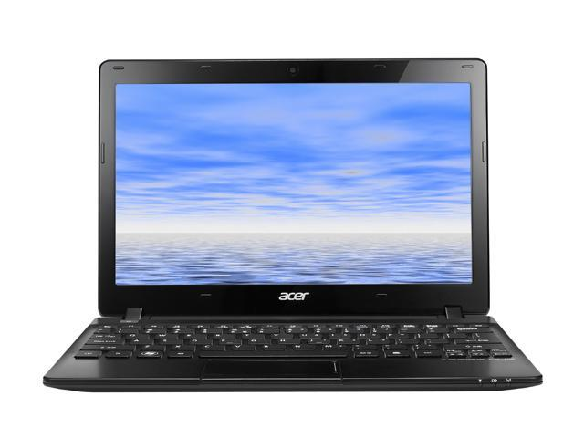 "Acer Aspire One AO725-0494 AMD Dual-Core Processor C-70(1.00GHz) 11.6"" 4GB Memory 320GB HDD AMD Radeon HD 6290 Notebook"