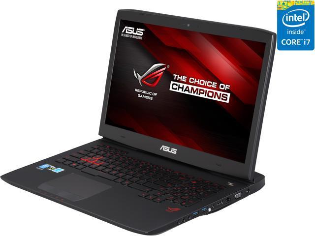 ASUS ROG G751JY-DH71 Gaming Laptop 4th Generation Intel Core i7 4710HQ (2.50 GHz) 24 GB Memory 1 TB HDD 256 GB SSD NVIDIA GeForce GTX 980M 4 GB GDDR5 17.3
