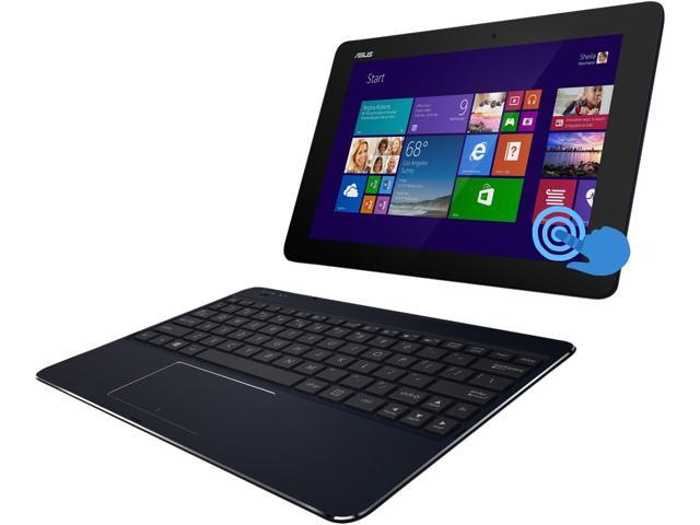 ASUS Transformer Book T100CHI-B1-BK 2-in-1 Ultrabook Intel Atom 2 GB Memory 32 GB SSD 10.1