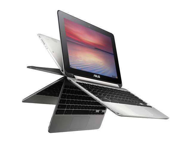 ASUS C100PA-DB01 Chromebook Rockchip 3288-C Quad-Core 1.80 GHz 2 GB Memory 16 GB eMMC SSD 10.1