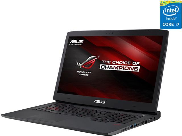 ASUS ROG G751JL-DS71 Gaming Laptop 4th Generation Intel Core i7 4720HQ (2.60 GHz) 16 GB Memory 1 TB HDD NVIDIA GeForce GTX 965M 2 GB GDDR5 17.3