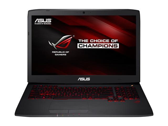 ASUS ROG G751JT-DB73 G-Sync Gaming Laptop 4th Generation Intel Core i7 4720HQ (2.60 GHz) 16 GB Memory 1 TB HDD 256 GB SSD NVIDIA GeForce GTX 970M 3 GB GDDR5 17.3