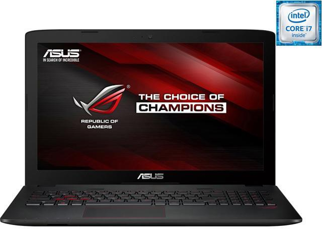 ASUS ROG GL552VW-DH71 Gaming Laptop 6th Generation Intel Core i7 6700HQ (2.60 GHz) 16 GB Memory 1 TB HDD NVIDIA GeForce GTX 960M 2 GB GDDR5 15.6