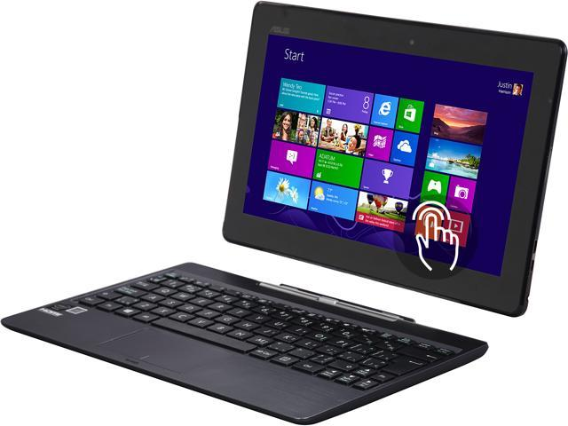 ASUS Transformer Book T100TAF-B14-GR 2-in-1 Tablet Intel Atom Z3735F (1.33 GHz) 32 GB eMMC Intel HD Graphics Shared memory 10.1