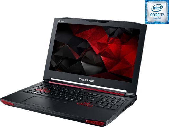 Acer Predator 15 G9-591-74KN Gaming Laptop Intel Core i7 6700HQ (2.60 GHz) 32 GB Memory 1 TB HDD 512 GB SSD NVIDIA GeForce GTX 980M 4 GB 15.6