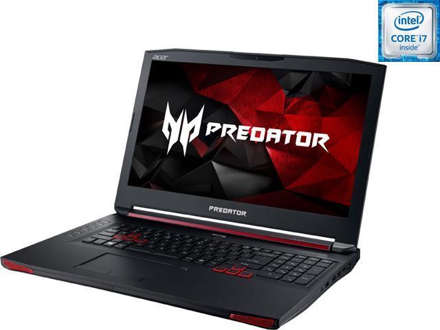 Acer Predator 17 G9-791-73ZW Laptop 6th Generation Intel Core i7 6700HQ (2.60 GHz) 32 GB Memory 1 TB HDD 512 GB SSD NVIDIA GeForce GTX 980M 4 GB GDDR5 17.3