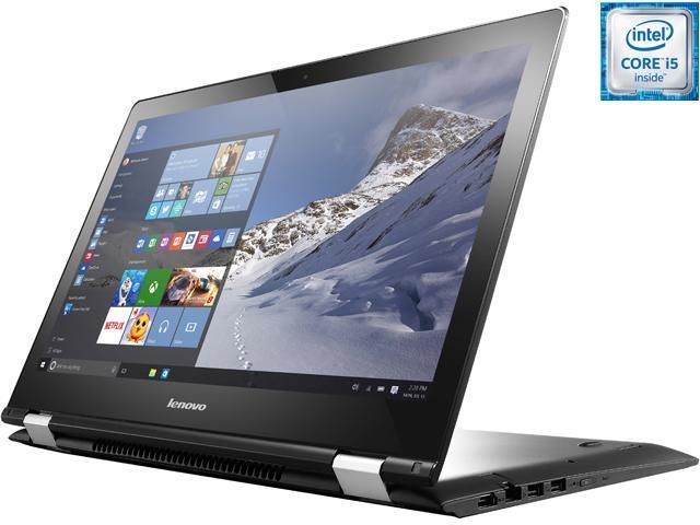 Lenovo Flex 3 2-in-1 Convertible laptop Intel Core i5-6200U (2.30 GHz) 8 GB Memory 1 TB HDD 15.6