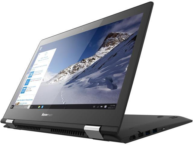 Lenovo Flex 3 2-in-1 Convertible laptop Intel Core i7 6500U (2.50 GHz) 8 GB Memory 1 TB HDD 14