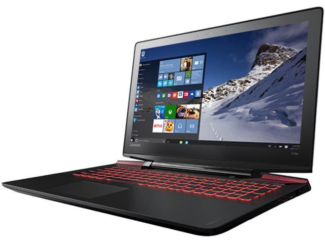 Lenovo IdeaPad Y700 80NV0026US Gaming Laptop 6th Generation Intel Core i7 6700HQ (2.60 GHz) 8 GB Memory 1 TB HDD NVIDIA GeForce GTX 960M 4 GB GDDR5 15.6