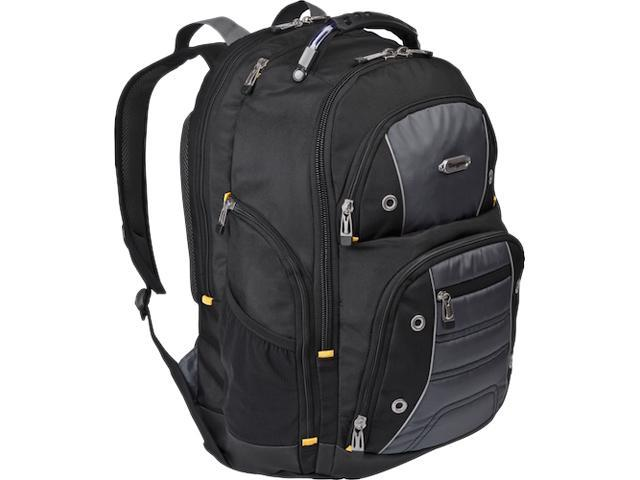 "Targus Black.Gray Drifter II 17"" Laptop Backpack TSB239US"