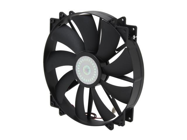 Cooler Master MegaFlow 200 - Sleeve Bearing 200mm Silent Fan for Computer Cases (Black)