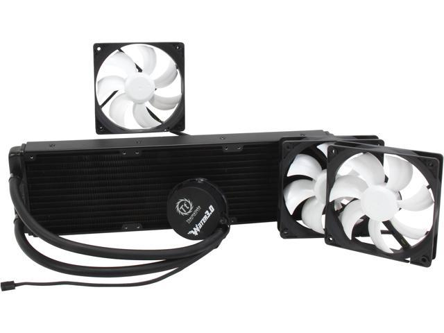 Thermaltake Water 3.0 Ultimate (CL-W007-PL12BL-A) Enthusiasts Class Water/Liquid CPU Cooler 360MM
