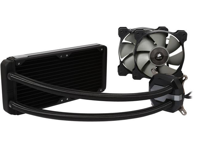 Corsair Hydro Series™ H100i GTX Extreme Performance Water / Liquid CPU Cooler. 240mm