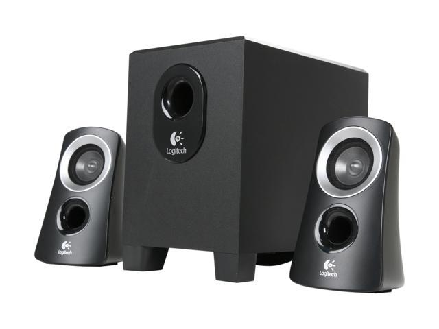 logitech z313 25 w 2 1 speaker system. Black Bedroom Furniture Sets. Home Design Ideas