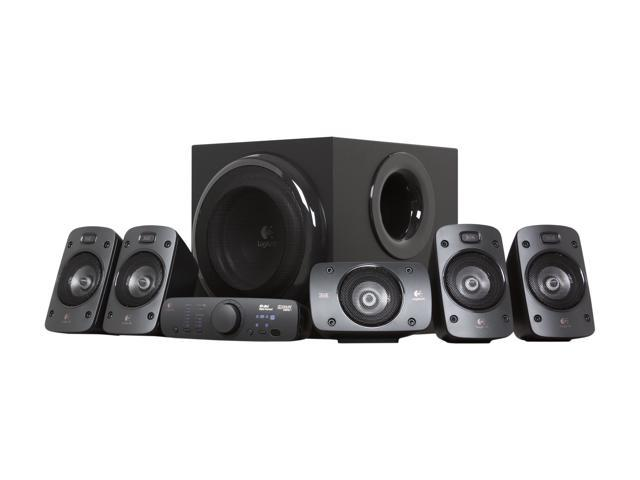 how to connect logitech z506 speakers to tv