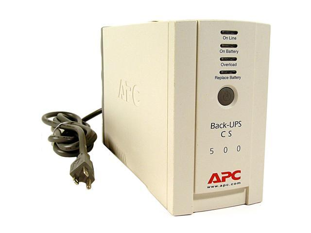 NeweggBusiness - APC Back-UPS BK500 500 VA 300 Watts 6