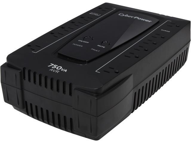 CyberPower AVR Series AVRG750U 750VA 450W 12 Outlets UPS