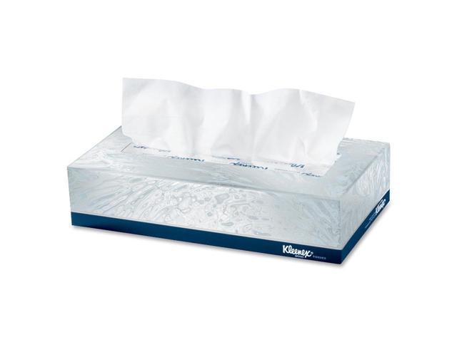 KIMBERLY-CLARK PROFESSIONAL* 21400 KLEENEX White Facial Tissue, 2-Ply, POP-UP Box, 100/Box, 36 Boxes/Carton
