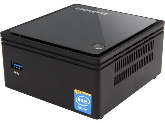 GIGABYTE GB-BXBT-2807 (rev. 1.0) 1 x 204Pin SO-DIMM Intel HD Graphics Integrated by CPU Black Mini-PC Barebone