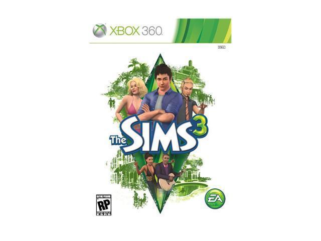 Sims 3 Xbox 360 Game EA