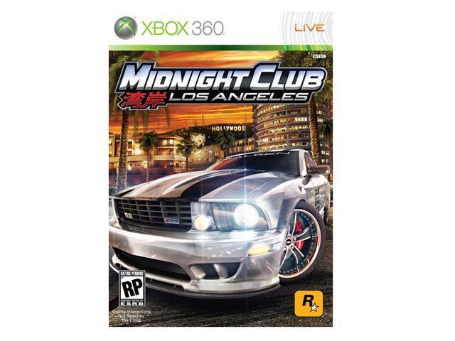 Midnight Club: Los Angeles Xbox 360 Game ROCKSTAR