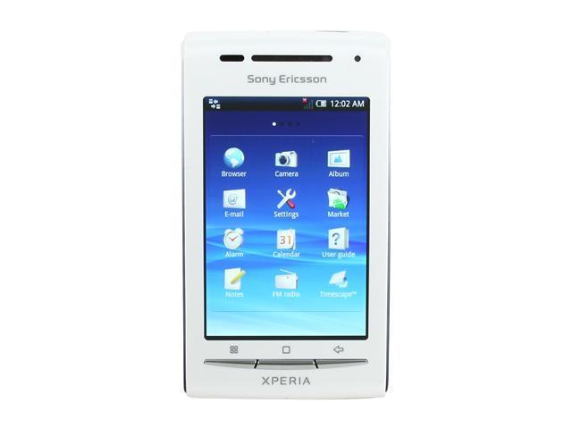sony ericsson xperia x8 silver. Sony Ericsson XPERIA X8 Dark