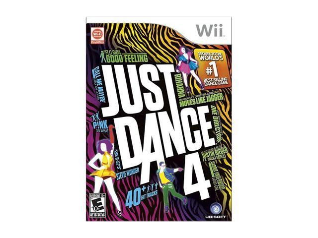 Just Dance 4 Wii Game UBISOFT