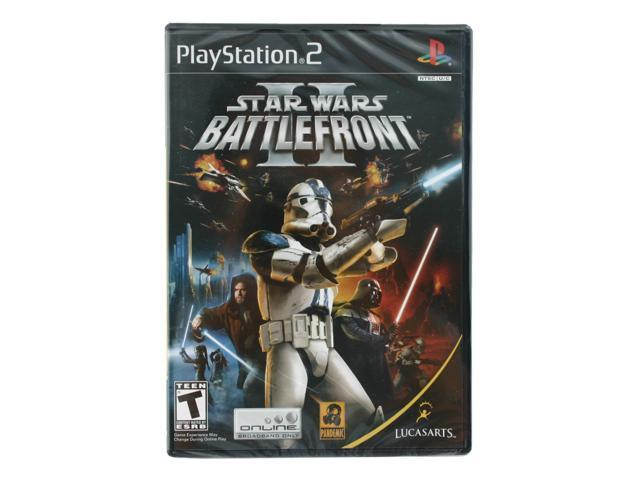 Star Wars Battlefront 2 Playstation 2 game LUCASARTS